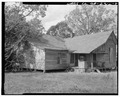 Southeast view - Hogan House, US 27 and State Route 1, Carrollton, Carroll County, GA HABS GA,23-CAROL.V,1-4.tif