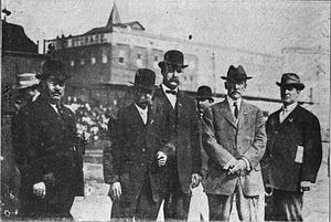 James Stephens Brown - Brown is second from left.