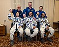 Soyuz TMA-18 Crew with backup crew.jpg