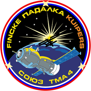 André Kuipers - Image: Soyuz TMA 4 Patch