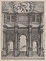 Speculum Romanae Magnificentiae- The Arch of Constantine, Rome MET DP870081.jpg