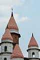 Spire and Domes - Hanseswari Mandir - Bansberia Royal Estate - Hooghly - 2013-05-19 7485.JPG