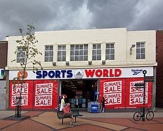 Sports Direct - A Sports World store in Scunthorpe, North Lincolnshire