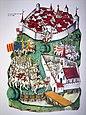 Darstellung der Schlacht bei St. Jakob an der Birs in der Tschachtlanchronik