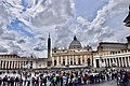 St. Peter's Square and Basilica, Vatican (Ank Kumar) 04.jpg