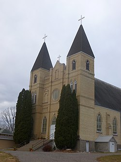 St. Stanislaus Catholic Church, Sobieski, MN.JPG