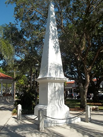 History of St. Augustine, Florida - Constitution of 1812 monument