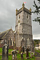 St Bartholomew's Church, Yealmpton tower.jpg