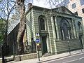St Botolph Aldersgate west front.JPG