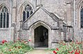 St Laurence, Combe, Oxon - Porch - geograph.org.uk - 1624524.jpg