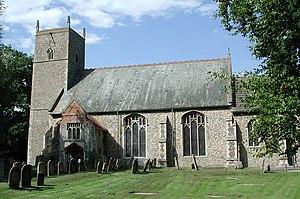 Ralph Knevet - St Margaret church, Lyng