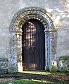 St Mary's church - Norman west doorway - geograph.org.uk - 1634149.jpg