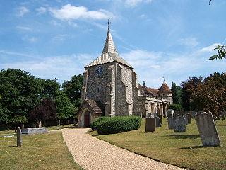 Mickleham, Surrey Village in Surrey, England