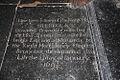 St Nicholas, Rushbrooke - Ledger slab (geograph 3138637).jpg