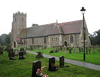 Carlton Colville - Image: St Peters church in Carlton Colville (geograph 2085659)