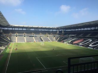 Stadium mk - Image: Stadium MK