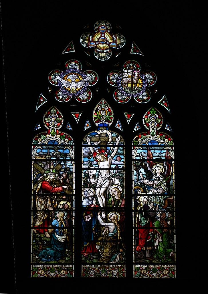 File Stained Glass Window Holy Trinity Church Geneva Jpg