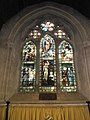Stained glass window above the altar at St Mary, Buriton - geograph.org.uk - 1531988.jpg