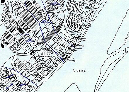 Schlacht Um Stalingrad Karte.Angriff Auf Stalingrad Wikiwand