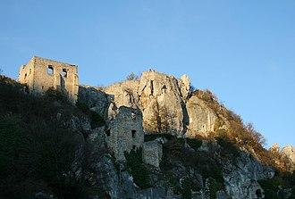 Roland I Rátót - Kalnik Castle (present-day Croatia), owned by Roland Rátót since 1270