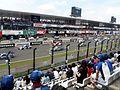 Starting grid of GT500 at 2014 pokka sapporo 1000km.JPG