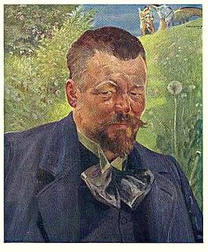 Ludwik Stasiak - Ludwik Stasiak; portrait by  Jacek Malczewski (c.1900)