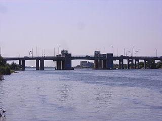 State Boat Channel Bridge bridge in United States of America
