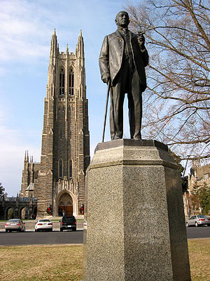 Charles Keck - Statue of James B. Duke in Duke University, 1935