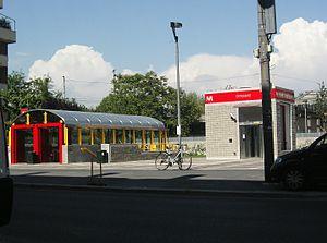 Dergano (Milan Metro) - Image: Stazione Dergano