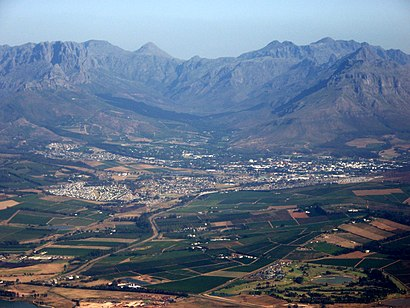How to get to Stellenbosch with public transport- About the place