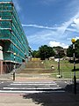Steps to Science Car Park, University of Sussex - geograph.org.uk - 1343313.jpg