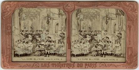 Stereokort, La Dame blanche 5, acte III, scène II - SMV - S165a.tif