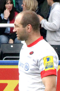 Steve Borthwick English rugby union footballer and coach