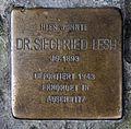 Stolperstein Chausseestr 117 (Mitte) Siegfried Lesh.jpg