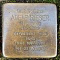 Stolperstein Karlsruhe Adele Rieser Kriegsstr 192 (fcm).jpg