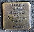 Stolperstein Turiner Str 46 (Weddi) Alfons Alexander.jpg