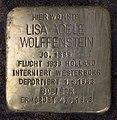 Stolperstein Westfälische Str 82 (Wilmd) Lisa Adele Wolffenstein.jpg