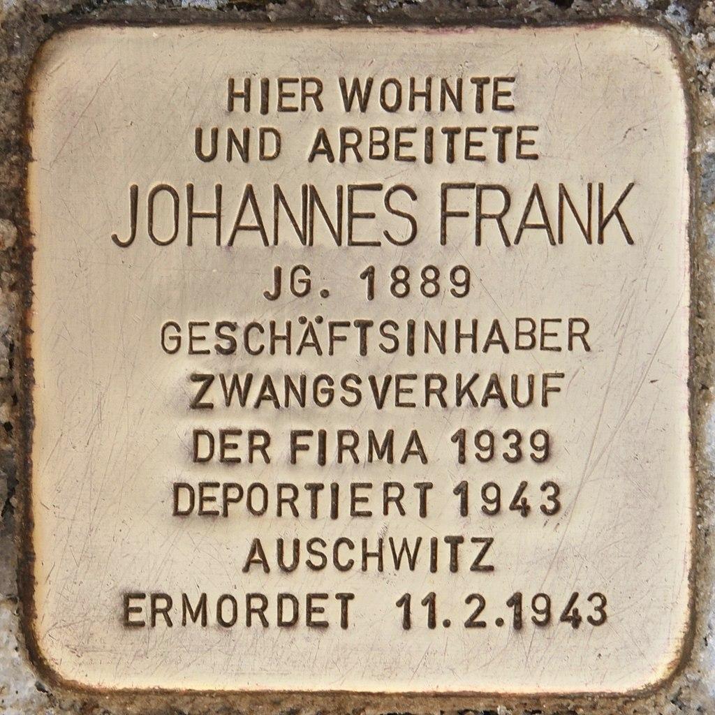 Stolperstein für Johannes Frank (Reichenbach).jpg