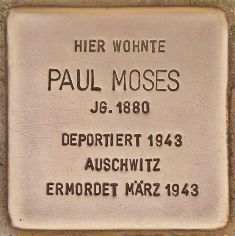 Stolperstein für Paul Moses (Zehdenick).jpg