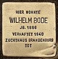 Stolperstein für Wilhelm Bode (Cottbus).jpg