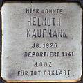 Stolpersteine Köln, Helmuth Kaufmann (Kartäuserwall 7).jpg