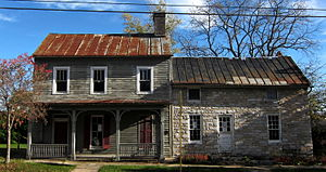 Stephens City, Virginia - The Stone House, along Main Street in Stephens City, built in the late 1700s.