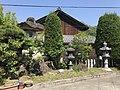 Stone lanterns in Ishikiri-Kazekiri Shrine.jpg