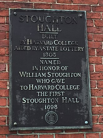 William Stoughton (judge) - Stoughton Hall Harvard University