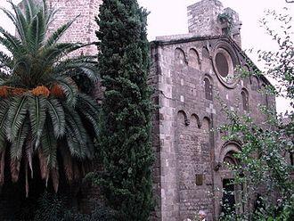 El Raval - Sant Pau del Camp church.