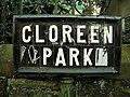 Street sign, Cloreen Park - geograph.org.uk - 1125376.jpg