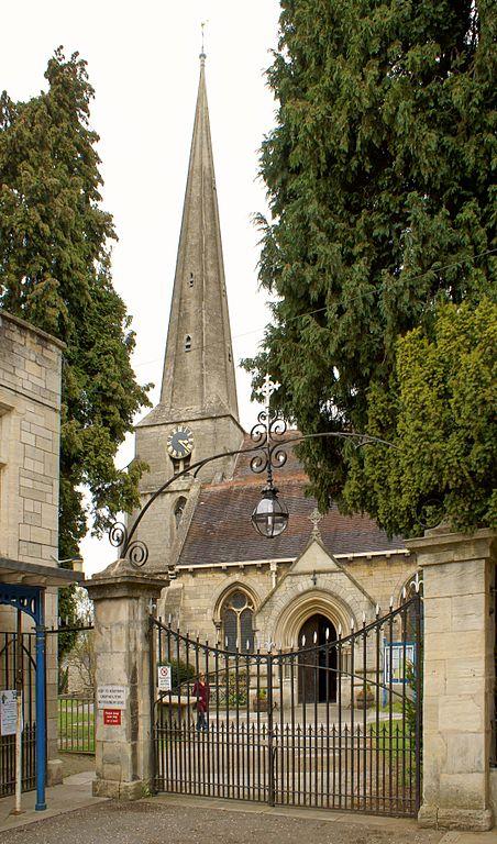 St Laurence' parish church, Stroud, Gloucestershire