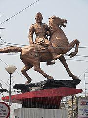 Subhas Chandra Bose statue