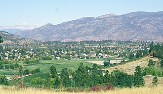 Summerland, British Columbia - A view of Summerland