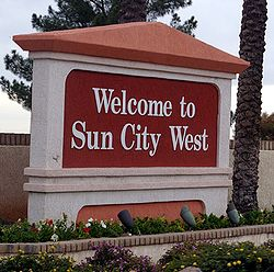 Sun City West entrance sign 20061227.jpg